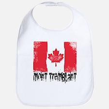 Mont-Tremblant Grunge Flag Bib