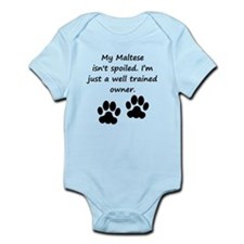 Well Trained Maltese Owner Body Suit