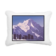 Utah Mountains Rectangular Canvas Pillow