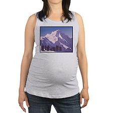Utah Mountains Maternity Tank Top