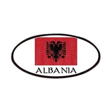 Albania Flag Patches