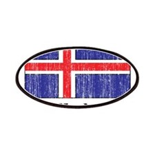 Iceland Flag Patches