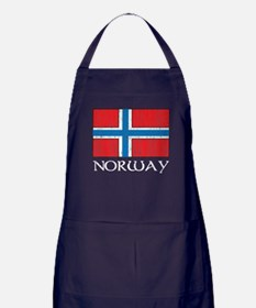 Norway Flag Apron (dark)