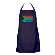 South Africa Flag Apron (dark)