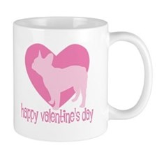 French Bulldog Valentine Mug