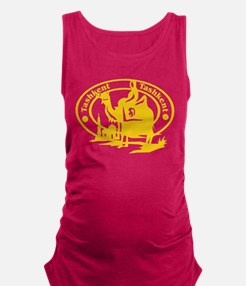 Tashkent Passport Stamp Maternity Tank Top