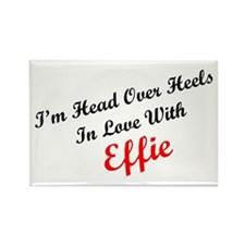 In Love with Effie Rectangle Magnet (100 pack)