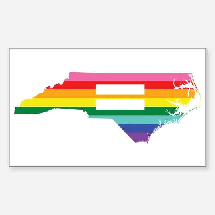 North Carolina equality Decal