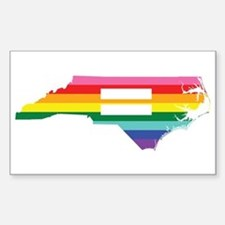 North Carolina equality Stickers