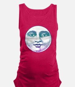 Man in the Moon Maternity Tank Top