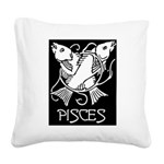 Pisces Square Canvas Pillow