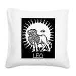 Leo Square Canvas Pillow
