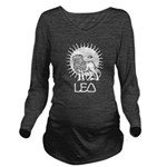 Leo Long Sleeve Maternity T-Shirt