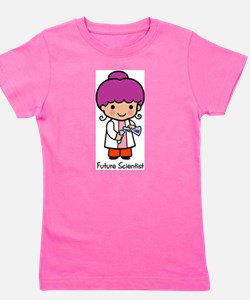 Future Scientist - girl Girl's Tee