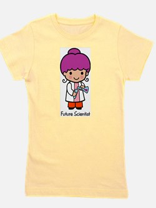 Future Scientist - girl Girl's Tee