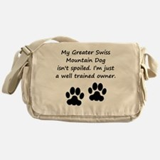 Well Trained Greater Swiss Mountain Dog Owner Mess