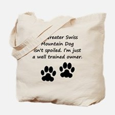 Well Trained Greater Swiss Mountain Dog Owner Tote