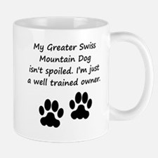 Well Trained Greater Swiss Mountain Dog Owner Mugs