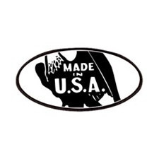 Made in USA Patriotic Patches