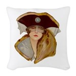 Glamour Girl - Beatrice Woven Throw Pillow