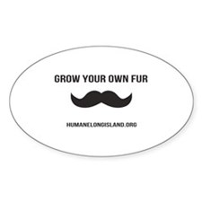 Grow Your Own Fur Decal