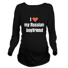 I love my Russian boyfriend Long Sleeve Maternity