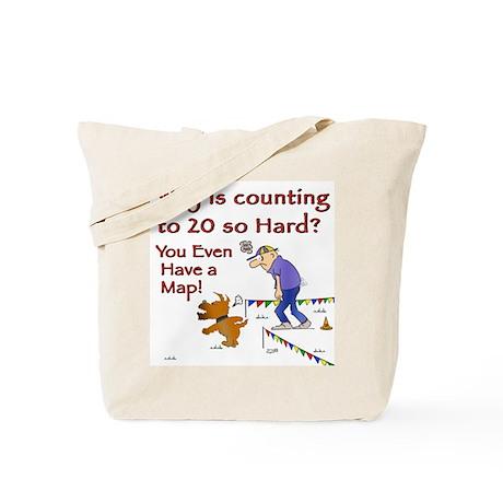 Lost Again Agility Tote Bag