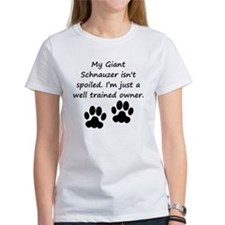 Well Trained Giant Schnauzer Owner T-Shirt