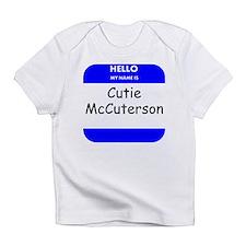 Cutie McCuterson Infant T-Shirt
