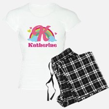 Personalized K Monogram Pajamas