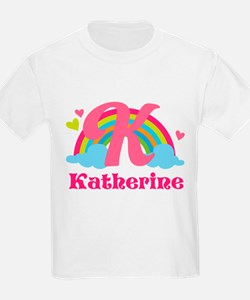Personalized K Monogram T-Shirt