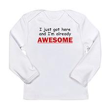 Im Already Awesome Long Sleeve T-Shirt