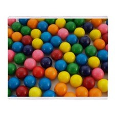 Gumballs Throw Blanket