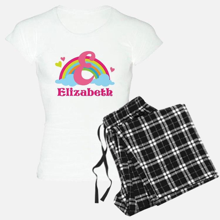 Personalized E Monogram Pajamas