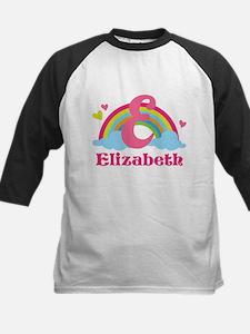 Personalized E Monogram Baseball Jersey