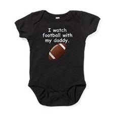 Football With Daddy Baby Bodysuit