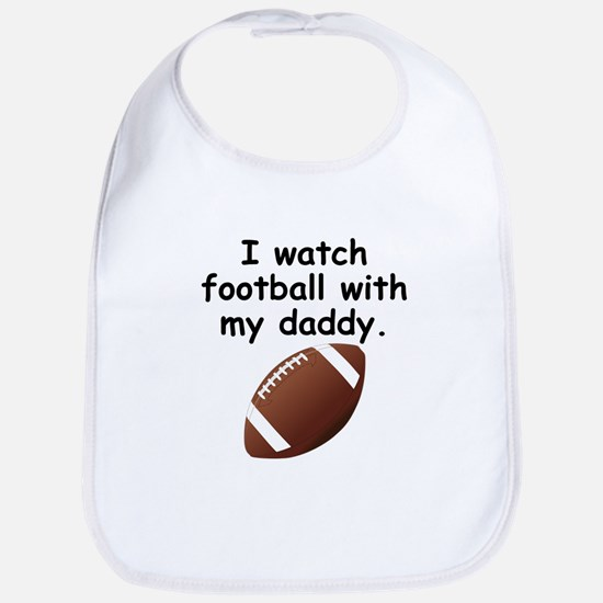 Football With Daddy Bib