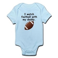 Football With Daddy Body Suit