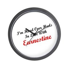 In Love with Earnestine Wall Clock