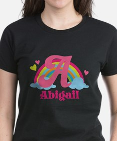 Personalized A Monogram T-Shirt