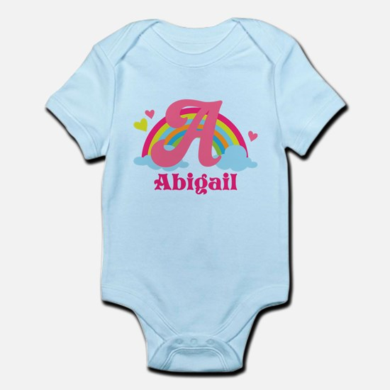Personalized A Monogram Body Suit