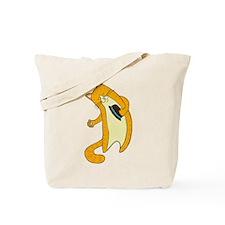 Greeting Cat Tote Bag
