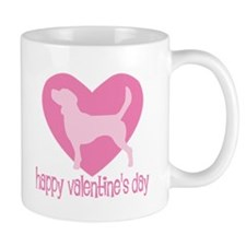 Beagle Valentine Mug