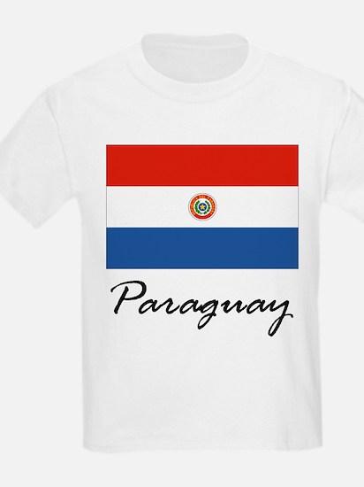 Paraguay Kids T-Shirt