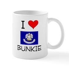 I Love BUNKIE Louisiana Mugs