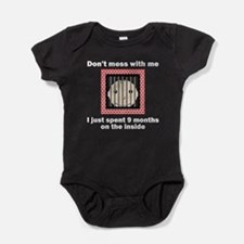 Nine Months On The Inside Baby Bodysuit