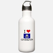 I Love COVINGTON Louisiana Water Bottle