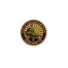 State of Confusion Seal Mini Button (10 pack)