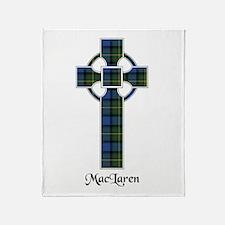 Cross - MacLaren Throw Blanket