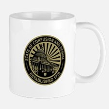 State of Confusion Seal Mugs
